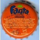 Iran Tehran Khoshgovar Fanta Used Bottle Crown Cap