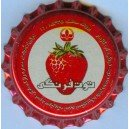 Iran Behnoush Delster Strawberry Flavor Non-Alcoholic Beer Used Bottle Crown Cap