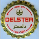 Iran Behnoush Delster Non-Alcoholic Beer Unused Twist-off Bottle Crown Cap