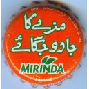 Pakistan Lahore City Mirinda Used Bottle Crown Cap