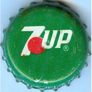 Iraq Nile Company 7up Used Bottle Crown Cap
